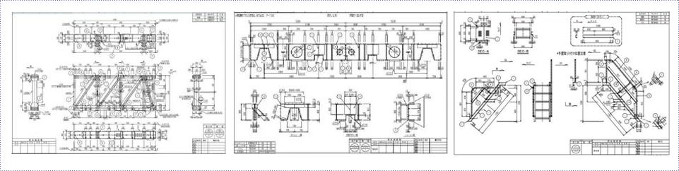 Bản vẽ kết cấu sắt thép